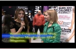 Kristen Colapinto interviews SELF Magazine's fitness director, Meaghan Murphy at PUMA launch in New York city.