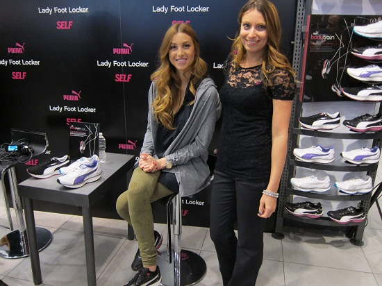 Whitney Port and Kristen Colapinto at PUMA launch in NYC