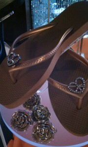 flipout sandals display