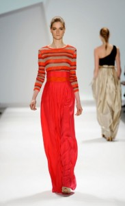 Carlos Miele Fall 2011 Runway Design