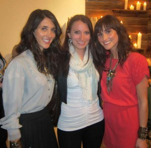 Kristen Colapinto, Danielle and Jodie Snyder at the DANNIJO Fall 2011 Presentation