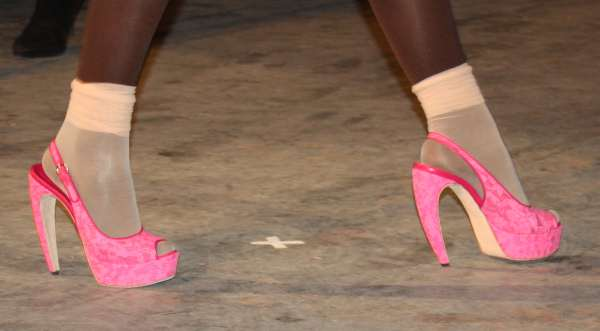 Shoes at Richie Rich Fall 2011 Runway Collection