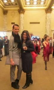 Derek 'Fabulous' Warburton and Lori Lengua Truffle at Navarra, Kingdom of Flavors Seminar and Tasting