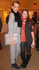 Derek 'Fabulous' Warburton and Social Vixen's Kristen Colapinto