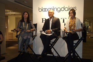 Tia Cibani, Joe Zee and Olivia Palermo