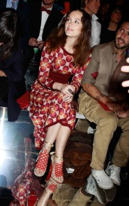 Gossip Girl's Leighton Meester at Marc Jacobs Fall 2011 Runway