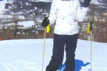 Kristen Colapinto (Social Vixen) at Windham Ski Resort in NY