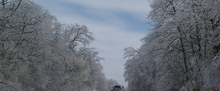 Taconic Parkway in the Winter