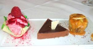 Dessert Sampler at 'Top of the World' Restaurant in Las Vegas
