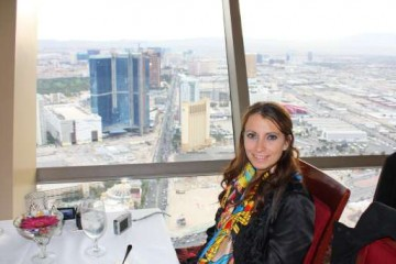Kristen Colapinto at 'Top of the World' Restaurant in Las Vegas