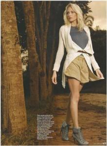 Maria Helena Vianna in Outono Cool editorial for Uma Magazine