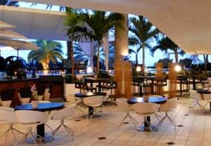 Marina Hotel Lobby in Aruba