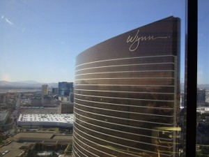 Exterior photo of the 'Encore at the Wynn' Hotel in Las Vegas