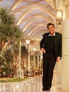 Steve Wynn from the 'Encore at the Wynn' Hotel in Las Vegas