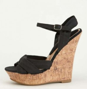 Charlotte Russe Cork Shoe Wedge