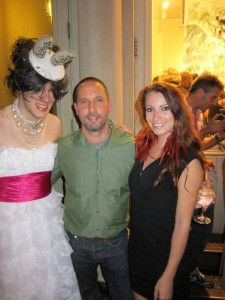 Ak-47, Alexis Bittar, and Kristen Colapinto during Fashions Night Out in New York City