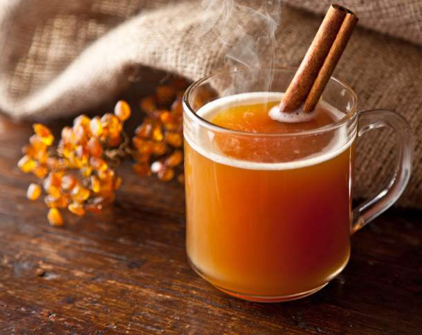 ORANGE SPICED CIDER-