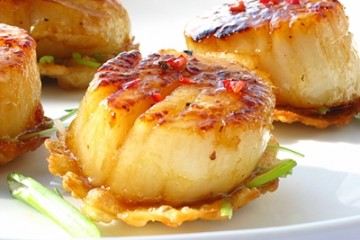 Scallops with Chili & Honey_2