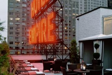 Empire Hotel Rooftop-Bottomless Closet