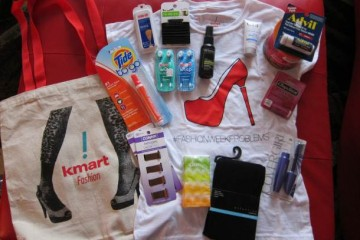FashionWeekProblems Survival Kit from Kmart6422