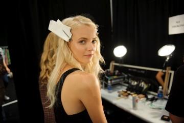 Backstage at Custo Barelona Spring 2013 Photo Credit: Jane Kratochvil Photography