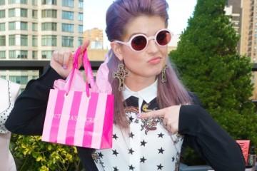 Victoria's Secret Fashion Week Suite at The Empire Hotel-Kelly Osborne