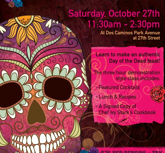 Dos Caminos Day of the Dead Cooking Class