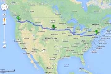 Seattle to Connecticut