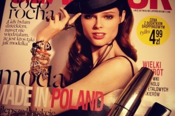 Coco Rocha Glamour Poland Cover-aaa