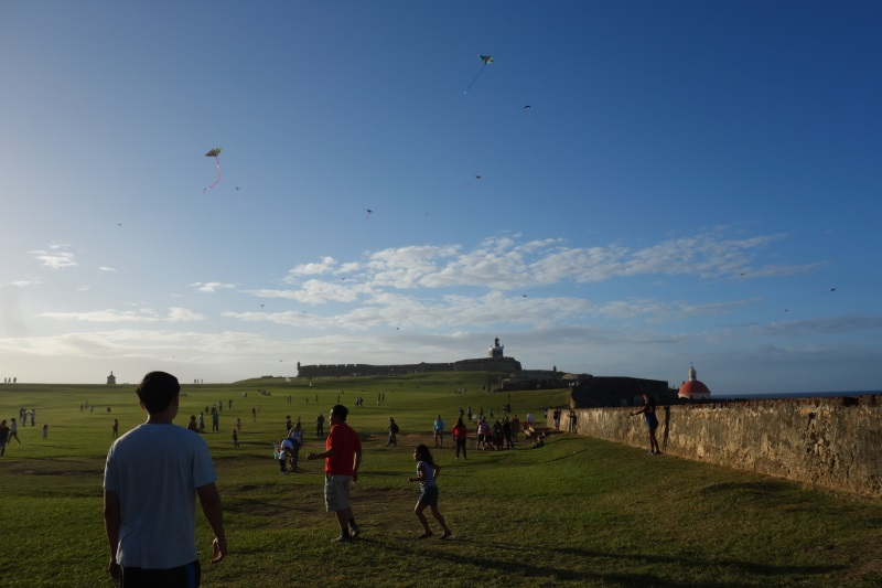 fly a kite Old San Juan-DSC08042