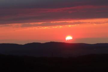 sunset at gouveie vineyards-DSC09664