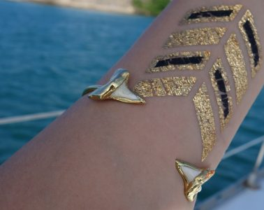Janna Connor Shark tooth bracelet_D8811