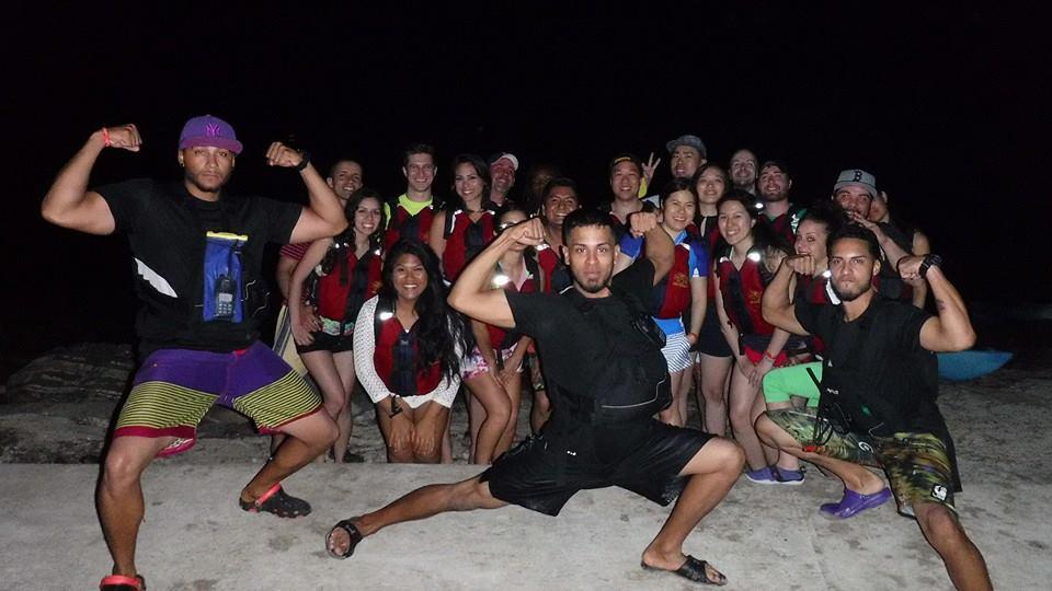 Night Kayaking in Fajardo Puerto Rico-3