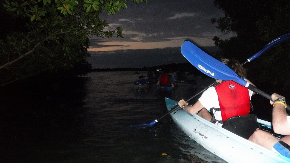 Night Kayaking in Fajardo Puerto Rico-6