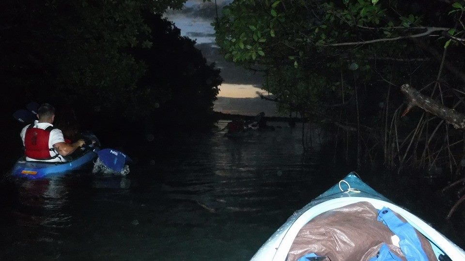 Night Kayaking in Fajardo Puerto Rico-8
