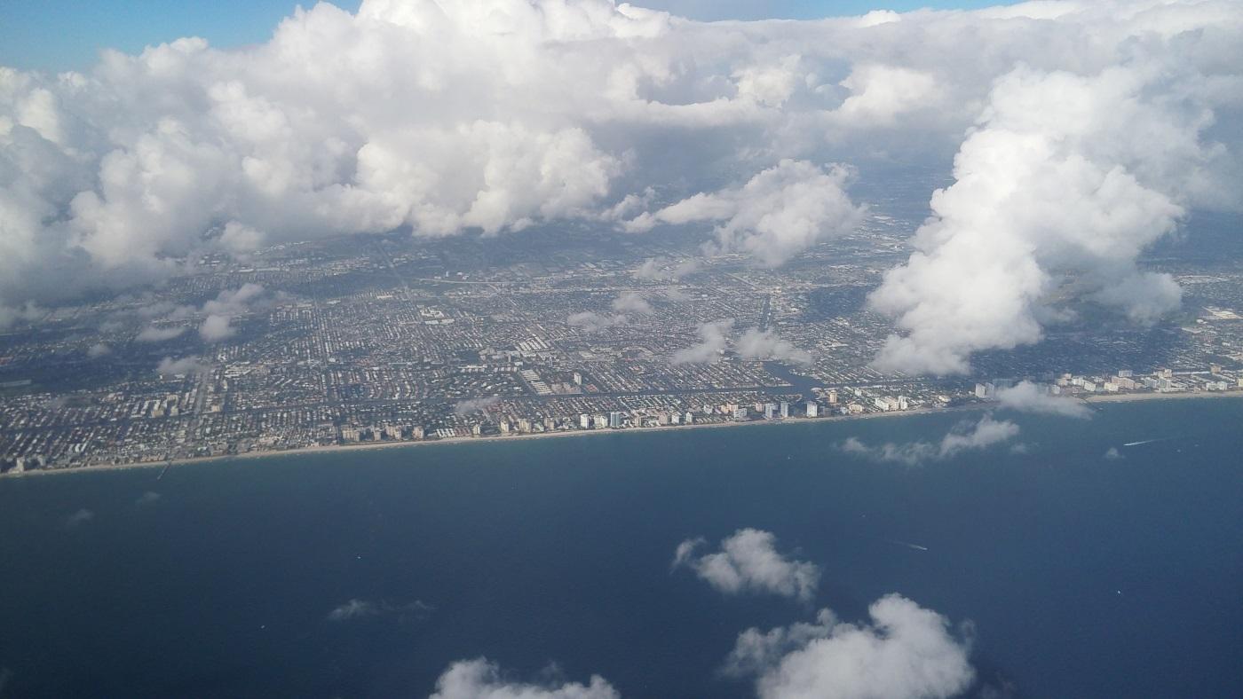 Regal Princess Cruise Flight From New York City to Miami-092452