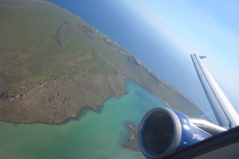 Curacao-August 2016-Flight from NYC-DSC03985