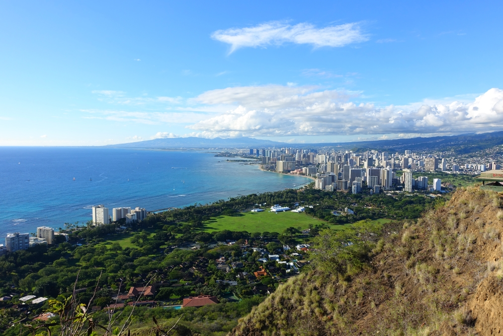 Diamond Head State Monument in Honolulu-DSC05980