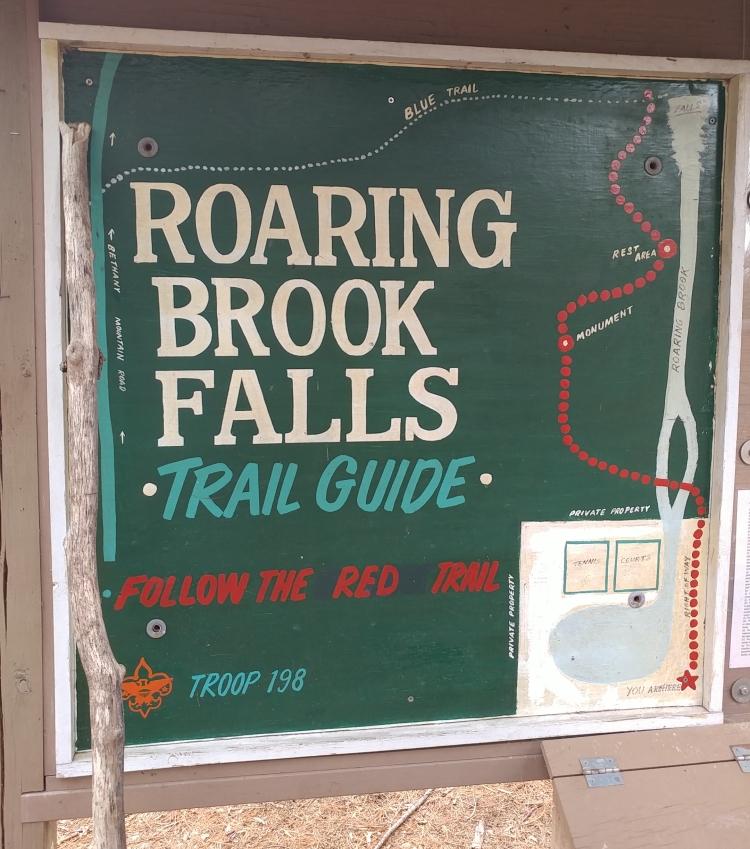Roaring Brook Falls152558